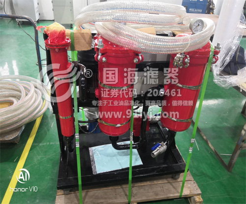 320号高粘度油液滤油机