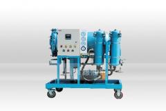 高效聚结脱水滤油机LYC-25J五级过滤系统