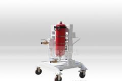 国海滤器GLYC系列高粘度油小型滤油机、过滤精度高、油黏性强