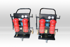 新乡50L流量LYC-B高精度液压油滤油机