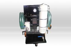 LYC-40A流量40L手推式小型煤油滤油车