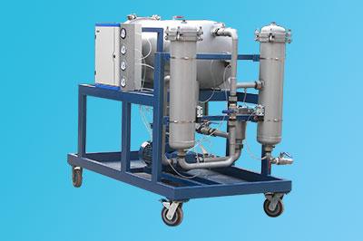 三一重工63L/min流量LYC-B项目滤油机成功配套